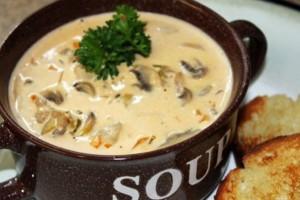 Εύκολη & νόστιμη συνταγή για μανιταρόσουπα!