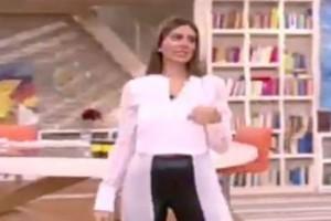Το πλάνο που πρόδωσε την τρίτη εγκυμοσύνη της Σταματίνας Τσιμτσιλή! Η φουσκωμένη κοιλίτσα και η κίνηση για την κρύψει on air!