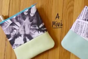 Δες πώς θα φτιάξεις τα πιο στιλάτα μικρά τσαντάκια (video)
