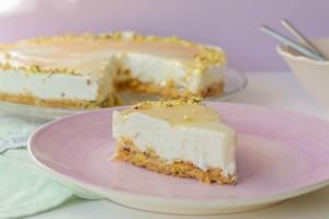 Cheesecake με μέλι και γιαούρτι!