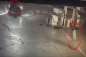Βίντεο - ντοκουμέντο: Η στιγμή που οι δράστες τοποθετούν τα εκρηκτικά στο βενζινάδικο στην Ανάβυσσο!