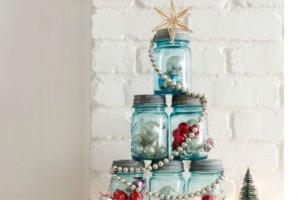 Φτιάξε μόνη σου Χριστουγεννιάτικα βαζάκια διακόσμησης!