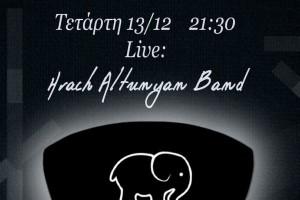 Ο Hrach Altunyan και η μπάντα του σήμερα Live στο Green Rose!