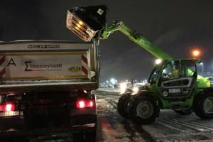 Τρομερές χιονοπτώσεις στη Φρανκφούρτη! Ακυρώθηκαν πολλές πτήσεις!