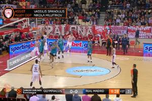 Euroleague: Με... Ολυμπιακό το Top 10 της αγωνιστικής! (video)