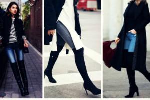 5 τέλεια σύνολα για φορέσεις τις over knee μπότες σου! (Photos)
