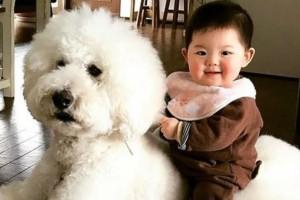 Οι σκύλοι και τα μωρά είναι οι καλύτεροι φίλοι!