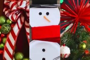 5 φανταστικές ιδέες για Χριστουγεννιάτικη διακόσμηση με... υλικά που όλοι έχετε στο σπίτι (Photos)