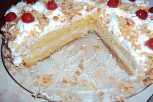 Θα σας ξετρελάνει: Μια εντυπωσιακή και λαχταριστή τούρτα αµυγδάλου!