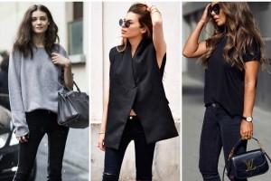 5 στιλάτοι τρόποι για να συνδυάσεις το μαύρο τζιν παντελόνι! (Photo)