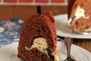"""""""Κόλαση"""": Κέικ σοκολάτας με γέμιση Oreo cheesecake!"""