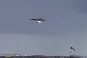 Βίντεο θρίλερ από την Κάλυμνο: Αεροπλάνο προσπαθεί να προσγειωθεί εν μέσω κακοκαιρίας