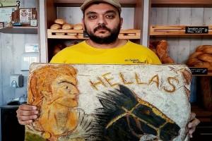 Ο φανταστικός φούρναρης - καλλιτέχνης από τα Γιαννιτσά! - Δημιουργεί έργα τέχνης πάνω σε φρατζόλες! (Photo)