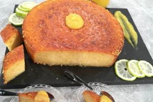 Τέλεια λεμονόπιτα με σιρόπι και απίστευτη κρέμα λεμόνι!