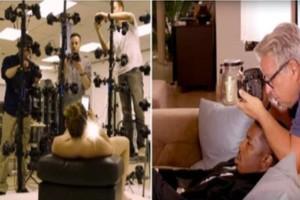 Δείτε για πρώτη φορά: Να τι συμβαίνει πίσω από τις κάμερες μιας αισθησιακής ταινίας! (photos)