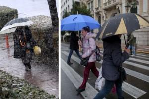 Έκτακτο δελτίο επιδείνωσης καιρού: Ισχυρές καταιγίδες και χιόνια από το βράδυ!