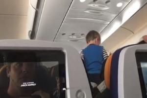 Μία πτήση... σκέτος μπελάς! - Το ζωηρό αγοράκι που δεν σταμάτησε να ουρλιάζει κατά την διάρκεια του 8ωρου ταξιδιού! (Video)