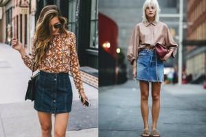 Ένα κομμάτι διαχρονικό: Πώς να φορέσεις την denim φούστα και να απογειώσεις την εμφάνισή σου!