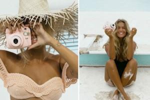 Σαν δύο σταγόνες νερό! Δες την απίστευτη ομοιότητα αυτής της blogger με τη Brigitte Bardot! Και το στυλ της μας εμπνέει