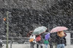 Η φωτογραφία της ημέρας: Πυκνή χιονόπτωση στη Μαδρίτη!