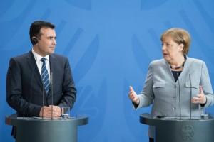 Μέρκελ και Ζάεφ αποκάλεσαν την ΠΓΔΜ «Μακεδονία»