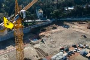 Τα έργα για το νέο γήπεδο της ΑΕΚ στη Νέα Φιλαδέλφεια από drone (video)