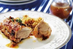 Η συνταγή της ημέρας: Ψαρονέφρι με σάλτσα μουστάρδας και ψητά λαχανικά! (Video)