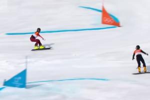 Απίστευτο βίντεο: Σκίουρος εισβάλει στους... Ολυμπιακούς αγώνες!