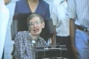 Όταν ο Στίβεν Χόκινγκ ήρθε στην Κρήτη για διάλεξη! (video)