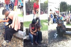 Έλουσαν ζευγάρι με λύματα επειδή ερωτοτροπούσαν και δεν ήταν παντρεμένοι! (video)