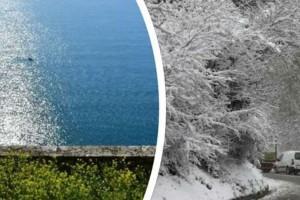 """""""Τρελάθηκε"""" ο καιρός σήμερα! Κρύο στη βόρεια Ελλάδα, ζέστη στα νότια..."""