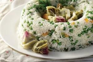 Η συνταγή της ημέρας: Ανοιξιάτικο πιλάφι με αρακά και αγκινάρες!