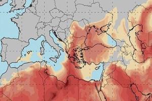 """Απίστευτο καιρικό φαινόμενο """"χτυπάει"""" την χώρα! Λασποβροχή, άνεμοι 9 μποφόρ, ζέστη και υγρασία!"""