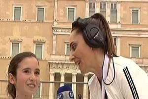 Η 12χρονη που έκλεψε την παράσταση στον 7ο Ημιμαραθώνιο Αθήνας! (Video)