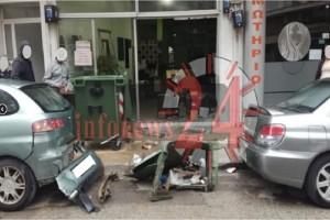 Απίστευτο περιστατικό στις Σέρρες: Άνδρας «μπούκαρε» με το αυτοκίνητό του σε κατάστημα! - Το επικό σημείωμα που άφησε! (Photo)