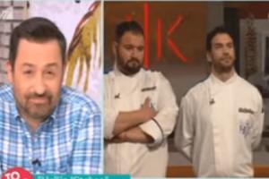 Hell's Kitchen: Ο Έκτορας Μποτρίνι πέταξε όλα τα πιάτα και τους διαγωνιζόμενους έξω από το εστιατόριο! Σοκαρισμένοι στο Πρω1νό από τα πλάνα! (Video)
