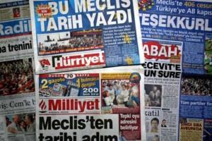 """Υπό τον έλεγχο του """"σουλτάνου"""" Ερντογάν και η Hurriyet!"""