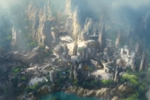 Star Wars – Galaxy's Edge: Εναέρια ξενάγηση στο νέο πάρκο της Ντίσνεϊλαντ