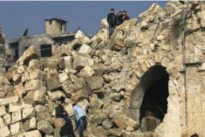 Αφρίν - Οι Τούρκοι βομβάρδισαν αρχαιολογικούς χώρους και Χριστιανικές εκκλησίες
