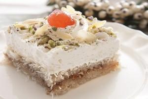 Ένα διαφορετικό γλυκό: Τoύρτα κανταΐφι με κρέμα λάιμ!