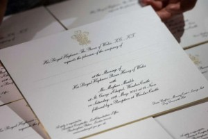 Αυτό είναι το προσκλητήριο γάμου του πρίγκιπα Χάρι! (foto)