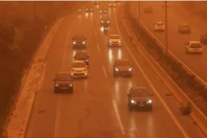 Τροχαίο στην Κρήτη λόγω σκόνης- Οδηγός δεν έβλεπε και έπεσε σε ρυάκι
