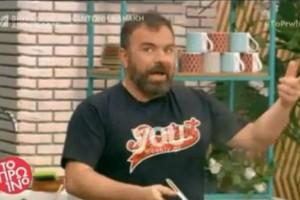 Βασίλης Καλλίδης: Τα σχόλια που τον ενόχλησαν και η δημόσια απάντηση του! Διέκοψε την εκπομπή και άφησε άφωνη την Σκορδά! «Νόμιζες ότι θα παραιτηθώ...» (Video)