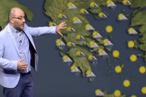 Καιρός για παραλίες; Ο Σάκης Αρναούτογλου προειδοποιεί: Αυτή είναι η θερμοκρασία της θάλασσας σήμερα! (video)