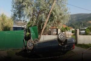 Απίστευτες εικόνες από σοβαρό τροχαίο στην Ναύπακτο! (Photo & Video)