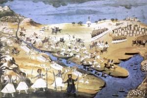 Σαν σήμερα στις 23 Απριλίου το 1821 έγινε η μάχη της Αλαμάνας!