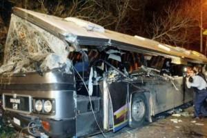 Η φωτογραφία της ημέρας: Το λεωφορείο από την τραγωδία στα Τέμπη, που έγινε σαν σήμερα!