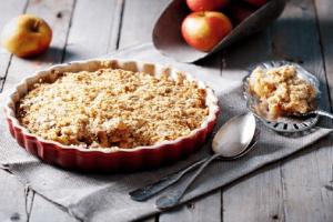 Γρήγορη μηλόπιτα: Apple crumble για απαιτητικούς ουρανίσκους!