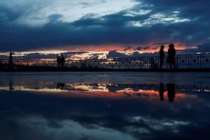 Η φωτογραφία της ημέρας: Ο ήλιος δύει στη Μόσχα!