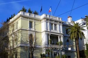 Καταδρομική του Ρουβίκωνα στη Γαλλική πρεσβεία! - Μία προσαγωγή